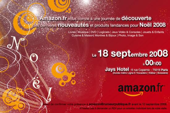 Amazon (September 2007 – August 2008)
