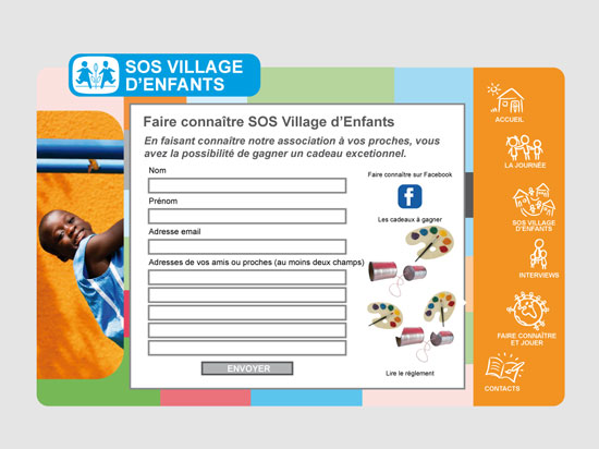 SOS Villages d'Enfants (June 2009 – November 2009)