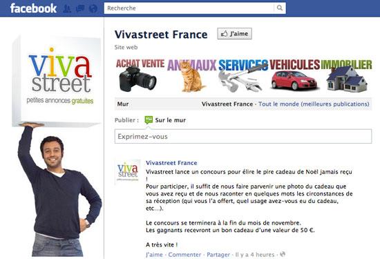 Vivastreet (January 2011 – September 2011)